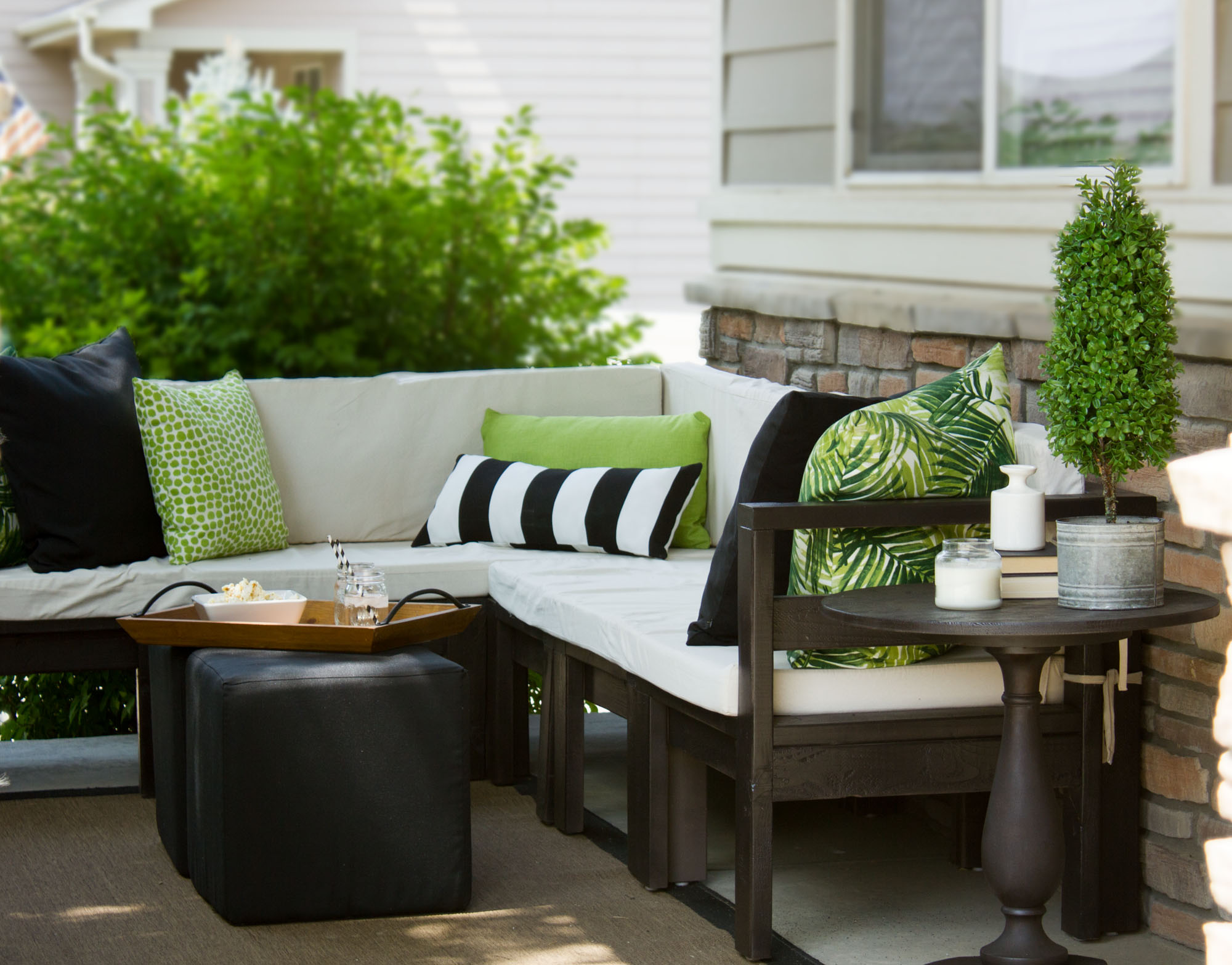 Diy Outdoor Furniture Ana White Sectional Plans Indoor Shannon